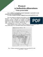 Principalii Parametri Function Ali Si Constructivi Ai Unei Masini de Tocat Carne de Tip Industria