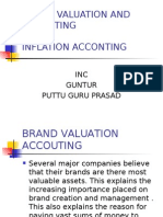 INFLATION ,BRAND VALUATION AC
