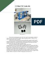 Mini Lathe CNC Conversion