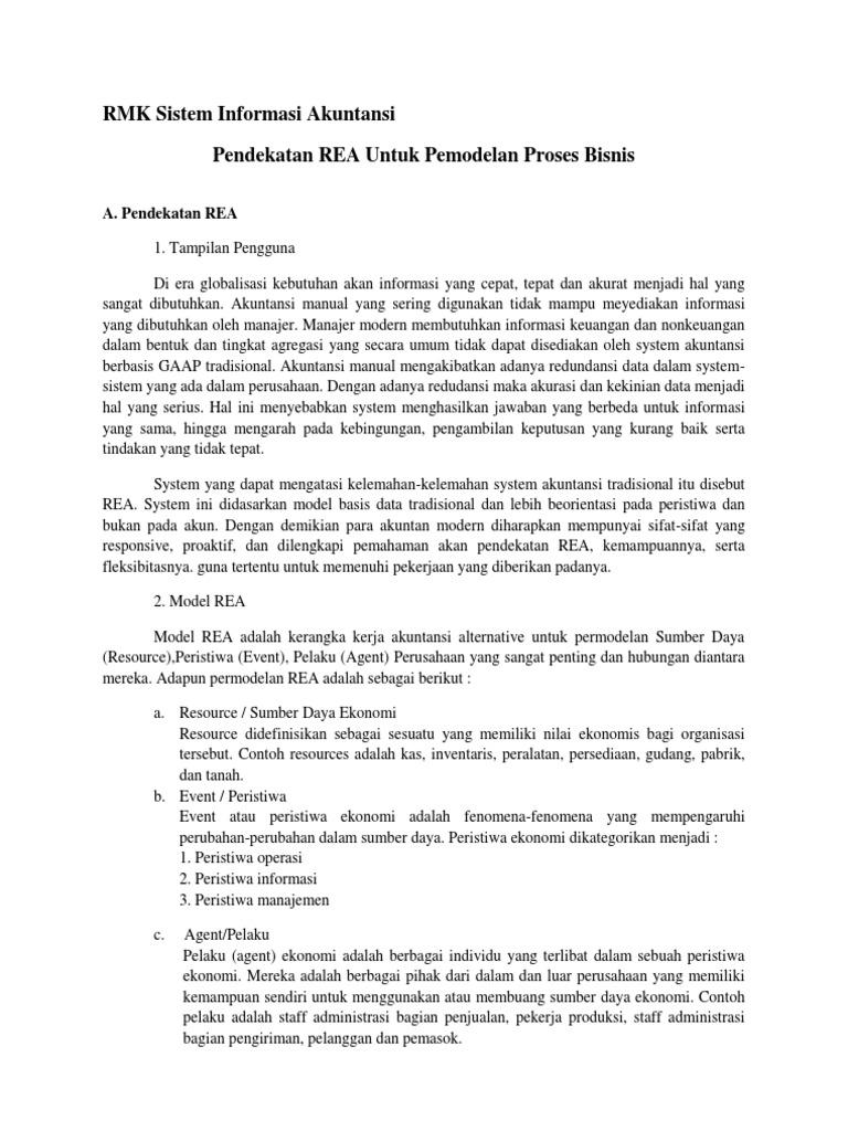 Pendekatan rea untuk pemodelan proses bisnis 1535471902v1 ccuart Gallery