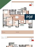 Floor Plans | Unitech Residences Gurgaon | Unitech The Residences // 9999189999