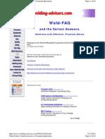 Www.welding Advisers.com Weld FAQ