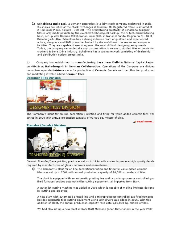 Schablona india ltd tile glasses dailygadgetfo Image collections