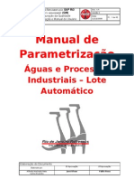 ZQMDD15 - Aguas e Processos is - Lote Automatico