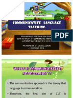 Communicative Teaching Learning