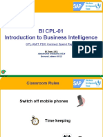 BI-CPL 01 Introduction to Business Intelligence