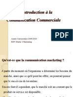 Chapitre 1.Introduction à la Communication commerciale ppt