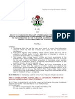 National Sovereign Investment Authority Bill 2010