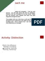 Coaching Activity Book