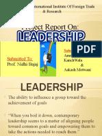 Presentation Leadership