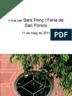 Fira de Sant Ponç | Feria de San Poncio