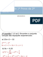 Gabarito -1ª Prova - 2ª Serie