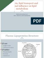 Hormonal Influence on Lipid Metabolism