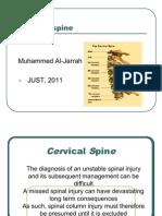 Presentation Cervical Spine