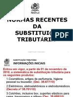 ICMS - Procedimentos Relativos Ao Estoque
