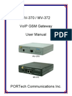 MV-372 User Manual