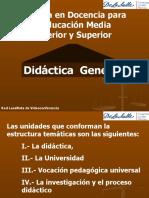 Presentación Didáctica Gral