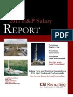 2011 CSI Recruiting E%26P Salary Report