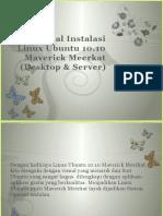 Instalasi Linux Ubuntu 10.10 Maverick Meerkat
