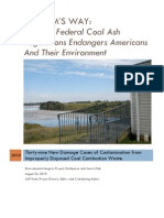 Coal Ash Disposal Report