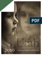 2010 Utah Comprehensive Report on Homelessness