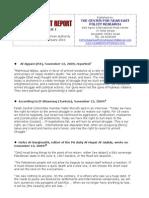 The Incitement Report Vol1