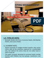 Housekeeping Management Chapter 1