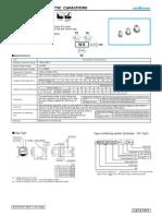 Capacitores Electroliticos de Aluminio SMD