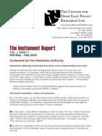 The Incitement Report Vol 5