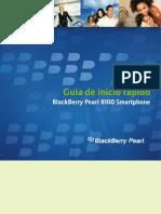 Blackberry Pearl 8100 - Guia de inicio rápido