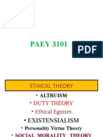 Paey3101 Ethics and Teaching Profession