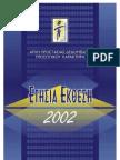 ΕΚΘΕΣΗ ΑΡΧΗΣ ΠΡΟΣΤΑΣΙΑΣ ΔΕΔΟΜΕΝΩΝ ΠΡΟΣΩΠΙΚΟΥ ΧΑΡΑΚΤΗΡΑ ΕΤΟΣ 2002