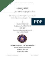 Vikas Maheshwari-05106-IT Implementation in Simplifying Demat Process