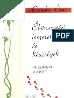 Csendes Éva_Életvezetési ismeretek és készségek_I-II. osztályos program_1997