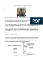 Mengenal Uji Tarik Dan Sifat-Sifat Mekanik Logam