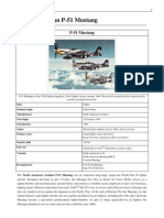 P-51 Mustang History in a Nutshell
