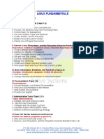 Temarios Track Linux