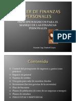 Presentación Taller Finanzas Personales