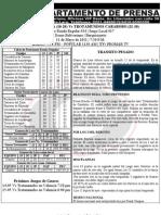 Reporte 34 Guaros-trotamundos Juego 3 Barquisimeto