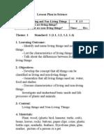Lesson Plan in Science Grade 1 Unit 1
