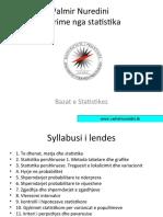 ushtrime ne statistike