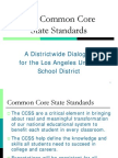 The Ccss for Ai&Pl's