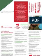 Triptico IUC Ayuntamiento de Los Llanos de Aridane en alemán