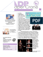 AADP Paper Crane Spring 2011