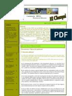 Boletín de Difusión El Chasqui n.0-2011