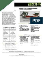 02 MLR100 Miniature Laser Range Finder Series 09 2010