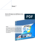 Migrating User Files From Windows 2000 to Windows 7
