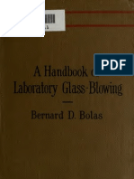 Handbook of Laboratory Glassware Blowing