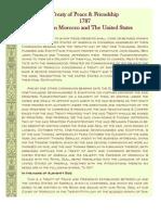 Treaty of Peace Friendship (1787)