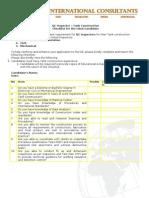 Checklist-QC Inspector (Tanks)